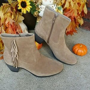 🎃Leather/Suede boots